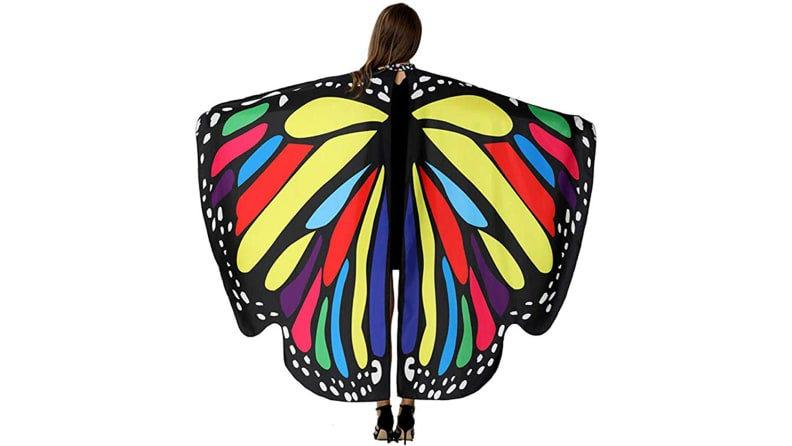 Whether they're for a fairy or butterfly costume, these wings will serve you well.