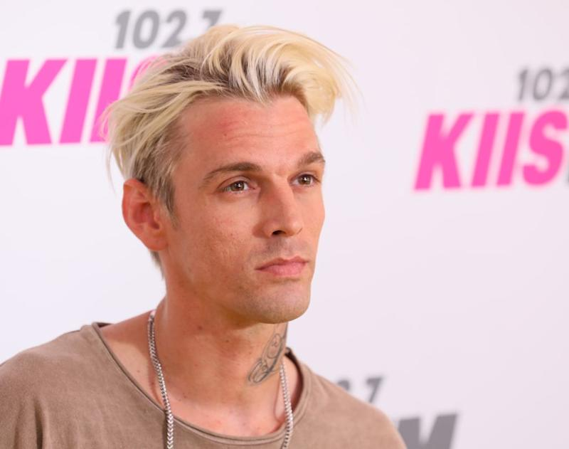 """Aaron Carter appears on this season of """"Marriage Boot Camp: Family Edition."""" (Photo: JB Lacroix/WireImage)"""