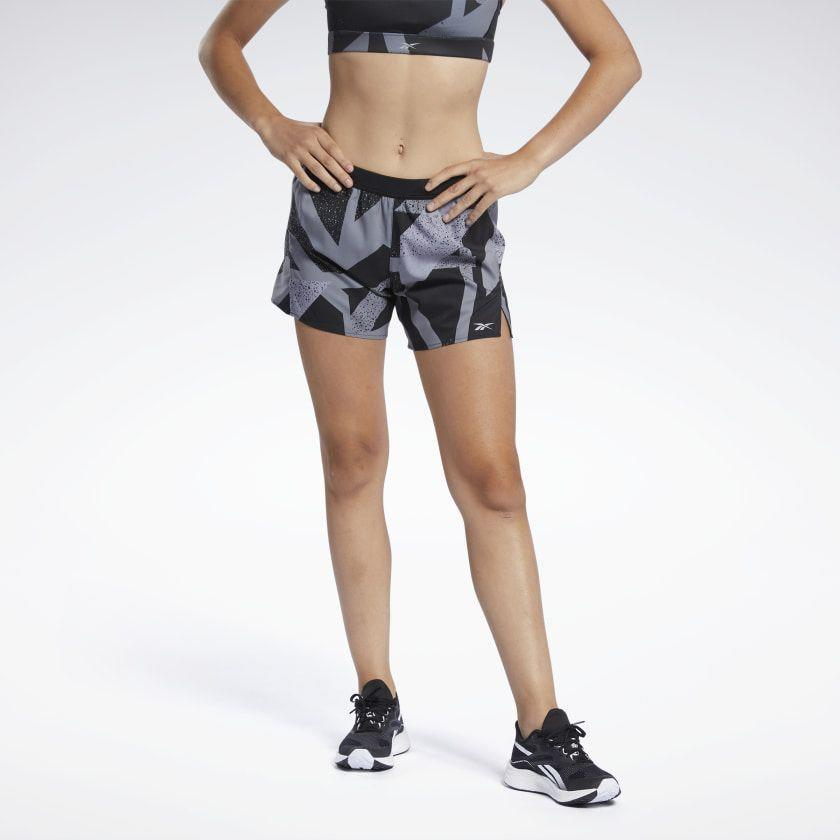 """<p><strong>reebok</strong></p><p>reebok.com</p><p><a href=""""https://go.redirectingat.com?id=74968X1596630&url=https%3A%2F%2Fwww.reebok.com%2Fus%2Frun-essentials-allover-print-shorts%2FGL2295.html&sref=https%3A%2F%2Fwww.runnersworld.com%2Fgear%2Fg36599675%2Fglobal-running-day-sales%2F"""" rel=""""nofollow noopener"""" target=""""_blank"""" data-ylk=""""slk:Shop Now"""" class=""""link rapid-noclick-resp"""">Shop Now</a></p><p><strong><del>$40</del> $24 (40% off)</strong></p><p>Stay comfortable during your next outdoor run with Reebok's essential shorts. This slim-fit pair features an elastic waist with a drawcord, so you won't have to worrying about your shorts sliding down mid-run. Plus, the pair has built-in briefs so you can keep your layers to a minimum.</p>"""