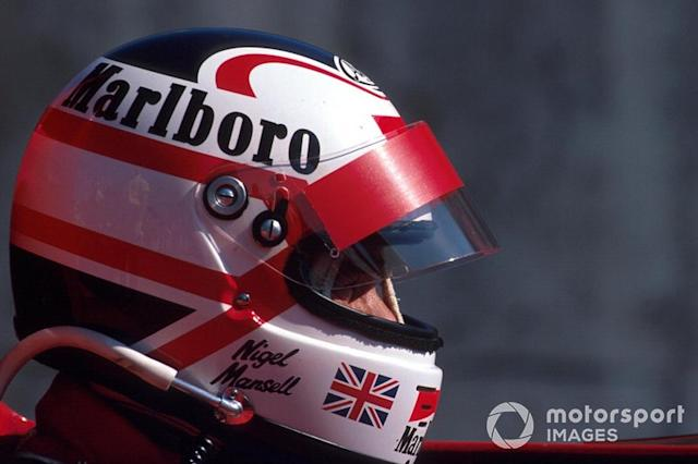 "Nigel Mansell <span class=""copyright"">Sutton Motorsport Images</span>"