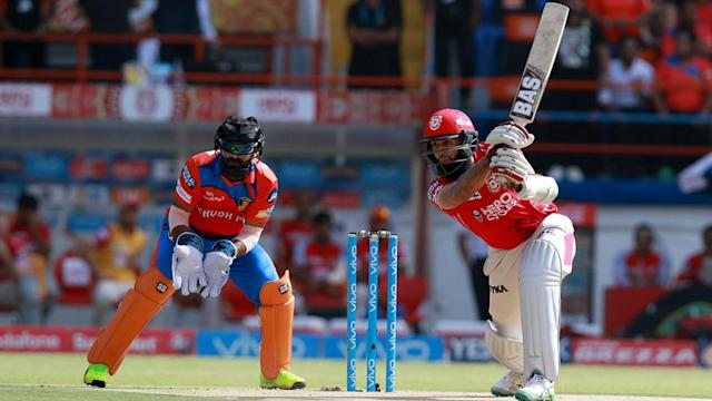 Kings XI Punjab snapped a four-game losing streak by comprehensively beating Gujarat Lions, who remain bottom of the IPL table.