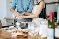 <p>Sign up for a class to learn how to make a new signature dish together, like homemade pasta. </p>