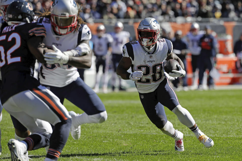 James White has turned into New England's most important running back (AP Photo/Nam Y. Huh)