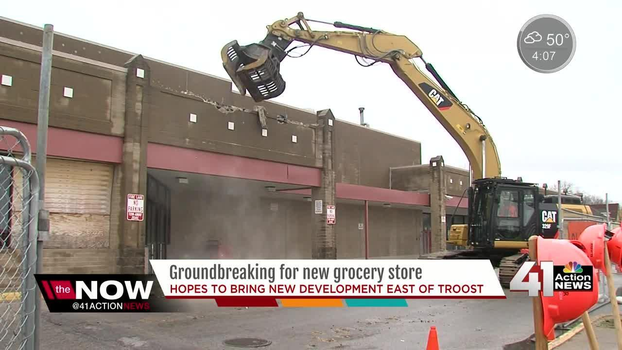 The corner of Linwood and Prospect is getting new life with a $13 million redevelopment project, which includes a Sun Fresh grocery store as it's anchor store.