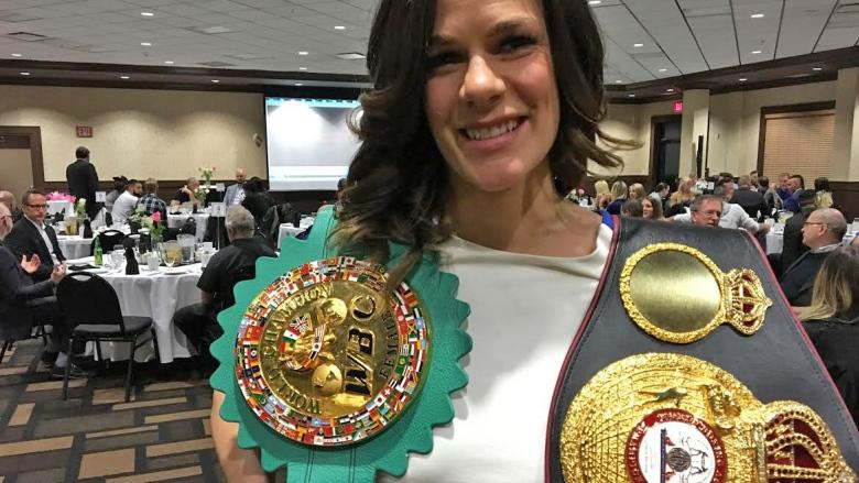'Jelena's kept the sport alive': Edmonton-based boxing champ honoured on home turf