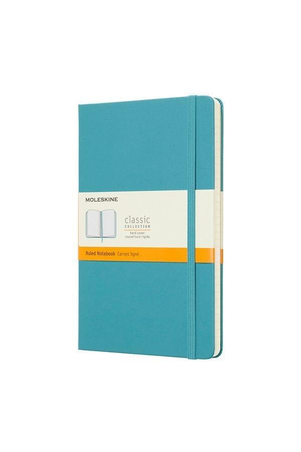 <p>If you like a smaller notebook, this <span>Moleskine Classic Large Hardcover Notebook</span> ($20) is essential.</p>