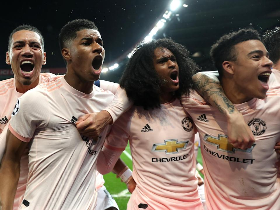 Marcus Rashford hit a late winner last time Manchester United were in Paris (Getty Images)