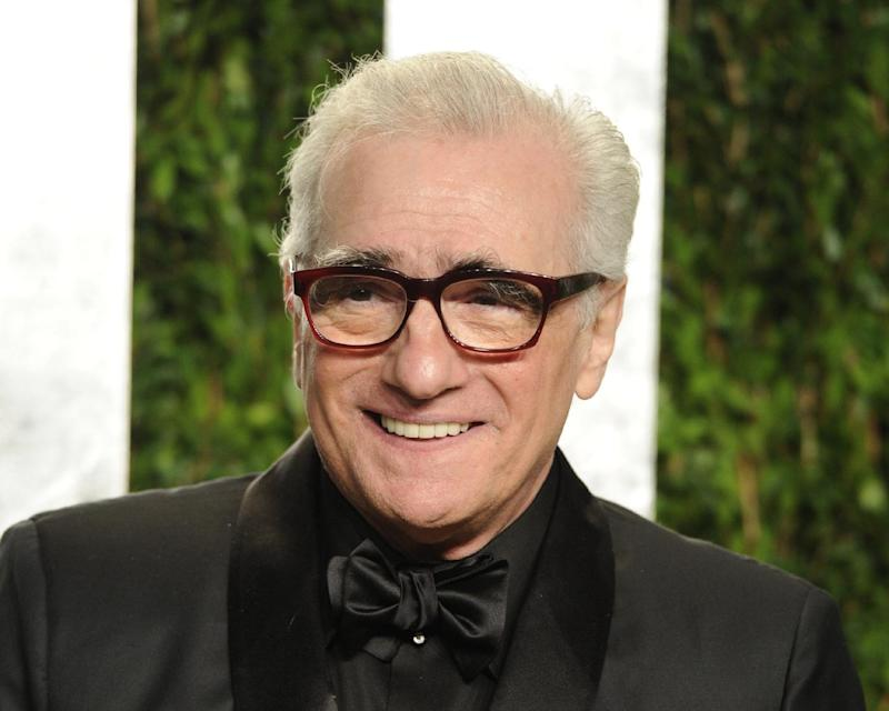 """FILE - This Feb. 26, 2012 file photo shows director Martin Scorsese at the Vanity Fair Oscar party in West Hollywood, Calif. In a statement Friday, March 29, 2013, the Oscar-winning director and Miramax studio said they're developing a TV series based on Scorsese's 2002 film """"Gangs of New York."""" (AP Photo/Evan Agostini, file)"""