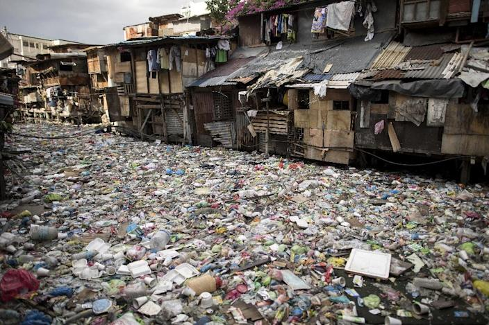 The Philippines is one of the biggest plastic polluters (AFP Photo/Noel CELIS)