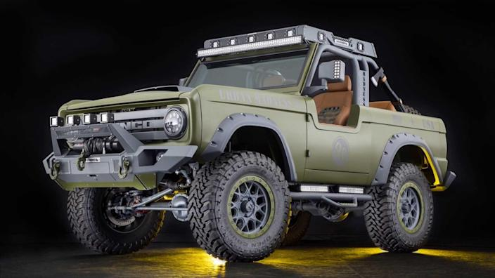 1969 Ford Bronco SEMA Build Up For Grabs
