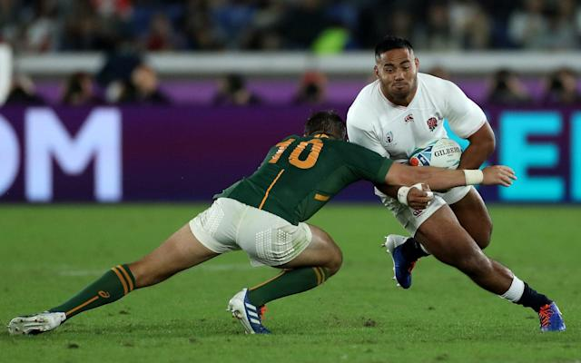Manu Tuilagi has 40 caps for England in union - Getty Images AsiaPac