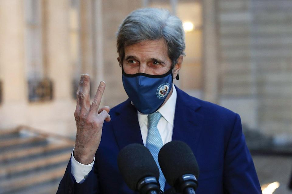 US climate envoy John Kerry is in Shanghai to meet his Chinese counterpart. Photo: AP