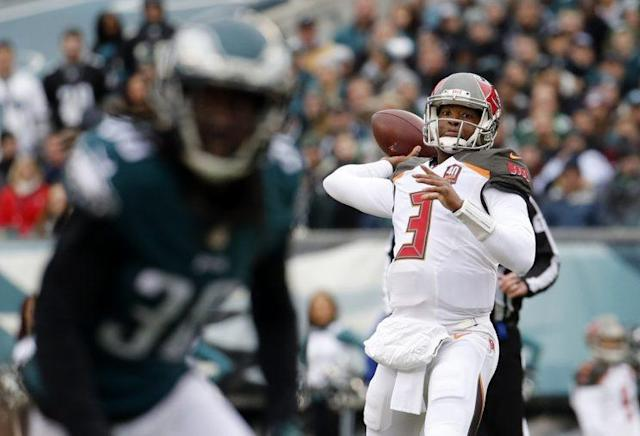 Jameis Winston had 4,042 yards and 22 touchdowns as a rookie (AP)