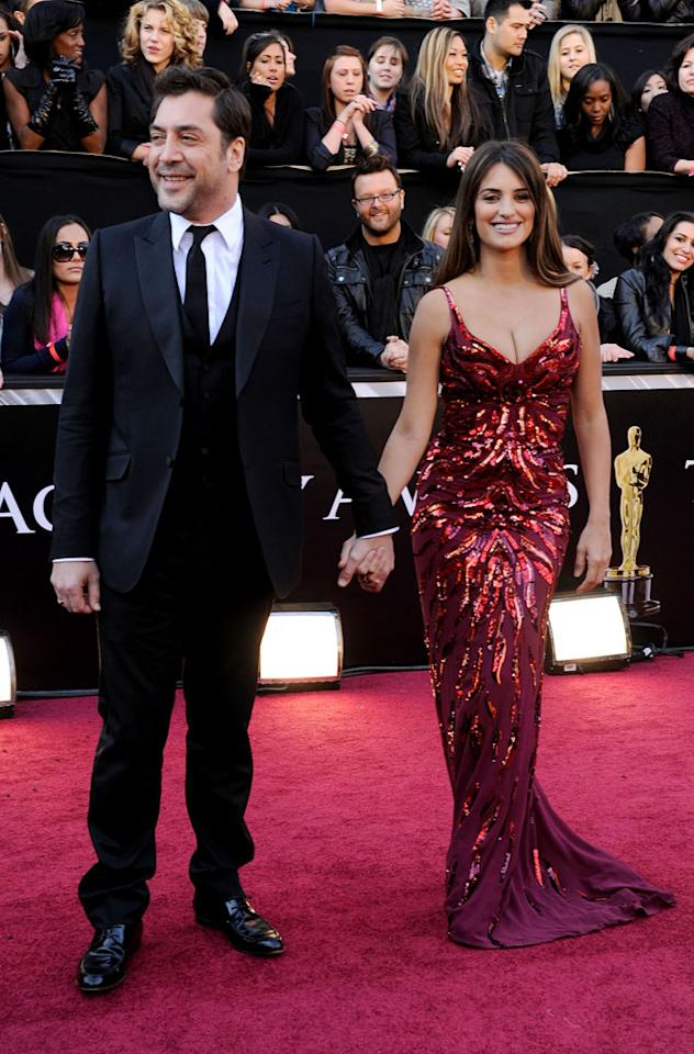 "<a href=""http://movies.yahoo.com/movie/contributor/1800023079"">Javier Bardem</a> and <a href=""http://movies.yahoo.com/movie/contributor/1800019548"">Penelope Cruz</a> arrive at the 83rd Annual Academy Awards held at the Kodak Theatre on February 27, 2011 in Hollywood, California."