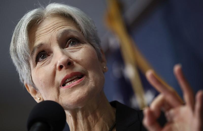 Former Green Party presidential nominee Jill Stein, seen in August 2016, has set in motion vote recount efforts in Wisconsin (AFP Photo/Win McNamee)