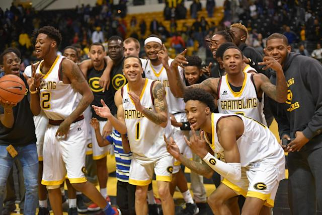 Long-downtrodden Grambling State owns college basketball's longest win streak. (photo via Grambling State Athletics)