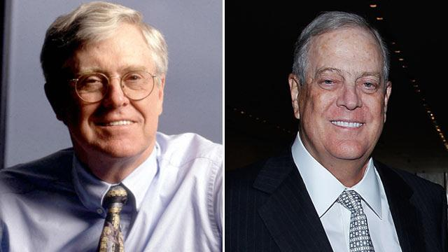 In a Power Grab, the Kochs' Struggles Are Revealed
