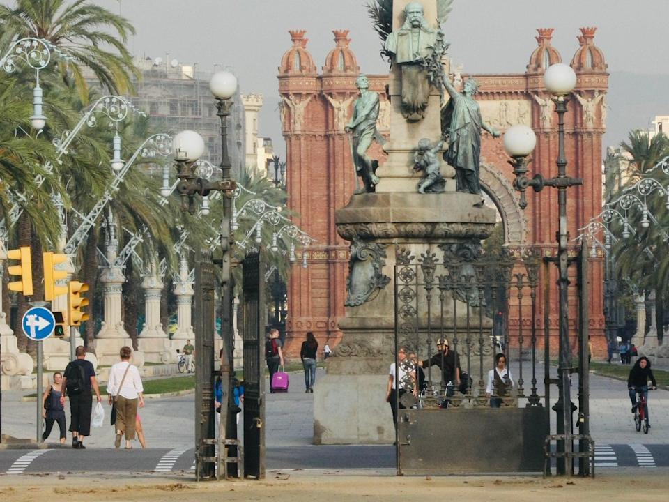 <p>Gate expectations: the European Union is trying to coordinate opening up travel to tourism hotspots such as Barcelona</p> (Simon Calder)