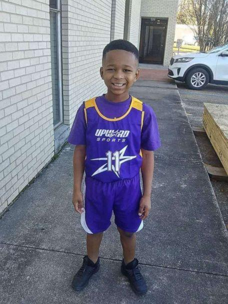 PHOTO: He totes his little basketball everywhere,' Grandmother Patricia Williams says about grandson Jeremiah. (Patricia Williams)