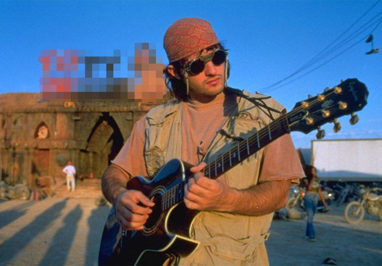 Robert Rodriguez on the set of 'From Dusk Till Dawn' (Photo: Joyce Rudolph)