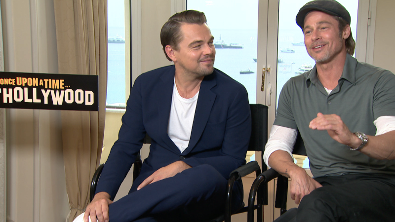 Quand Brad Pitt déclare sa flamme à Leonardo DiCaprio : notre interview Once Upon a Time In Hollywood !