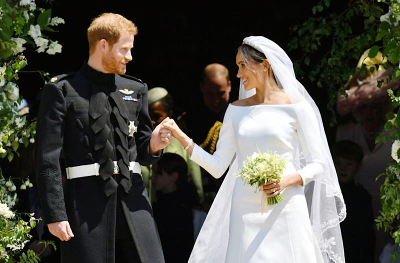 Another Royal Wedding on Meghan and Harry's Anniversary