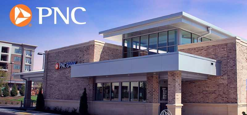 A PNC bank branch.