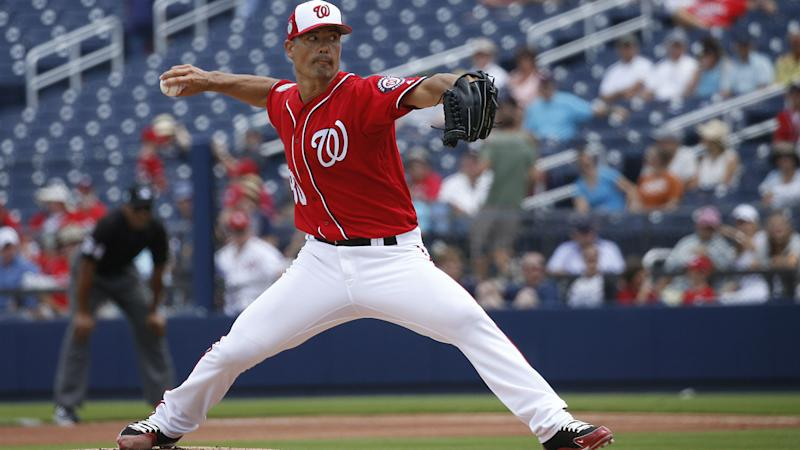 Nationals designate Jeremy Guthrie for assignment day after disastrous 10-run inning