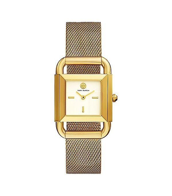 """<p><strong>Tory Burch</strong></p><p>toryburch.com</p><p><strong>$295.00</strong></p><p><a href=""""https://go.redirectingat.com?id=74968X1596630&url=https%3A%2F%2Fwww.toryburch.com%2Fphipps-watch--gold-tone--29-x-41-mm%2FTBW7250.html&sref=https%3A%2F%2Fwww.seventeen.com%2Flife%2Ffriends-family%2Fg722%2Fbest-holiday-gifts-for-mom%2F"""" rel=""""nofollow noopener"""" target=""""_blank"""" data-ylk=""""slk:Shop Now"""" class=""""link rapid-noclick-resp"""">Shop Now</a></p><p>Bling out mom's wrist with this artsy gold timepiece.</p>"""