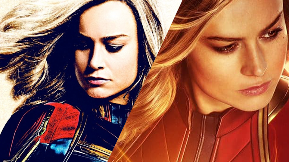 Captain Marvel's poster campaign has been impressive (credit: Marvel Studios)