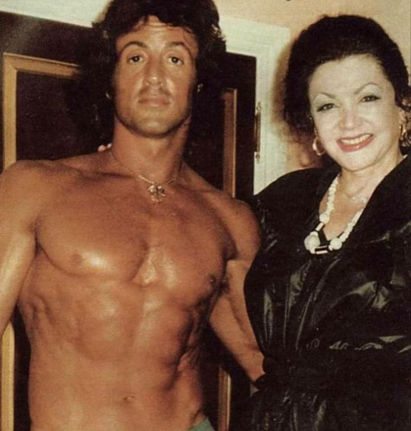 Sylvester Stallone's mother, Jackie Stallone,