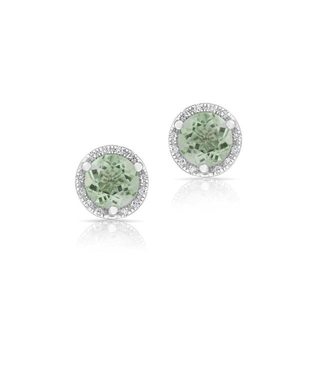 "<p>Anne Sisteron 14K white gold diamond green amethyst stud earrings, $410, <a href=""https://annesisteron.com/collections/jewelry/products/14kt-white-gold-diamond-green-amethyst-stud-earrings"" rel=""nofollow noopener"" target=""_blank"" data-ylk=""slk:annesisteron.com"" class=""link rapid-noclick-resp"">annesisteron.com</a> </p>"