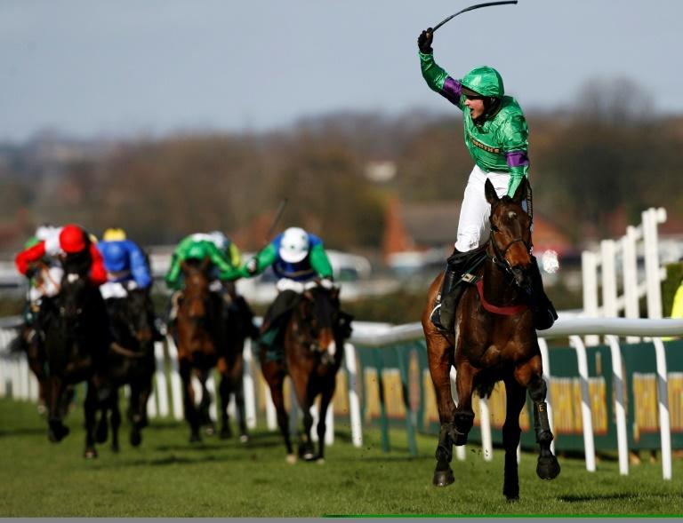 Liam Treadwell wins the 2009 Grand National on Mon Mome