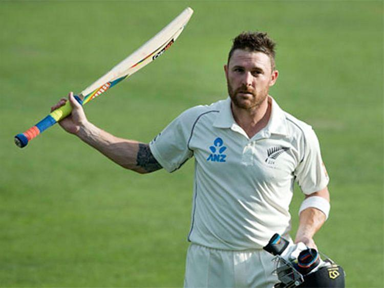 Brendon McCullum scored the fastest-ever Test century in his final game for New Zealand