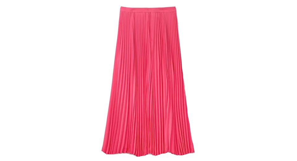 Kristen Pleated Skirt