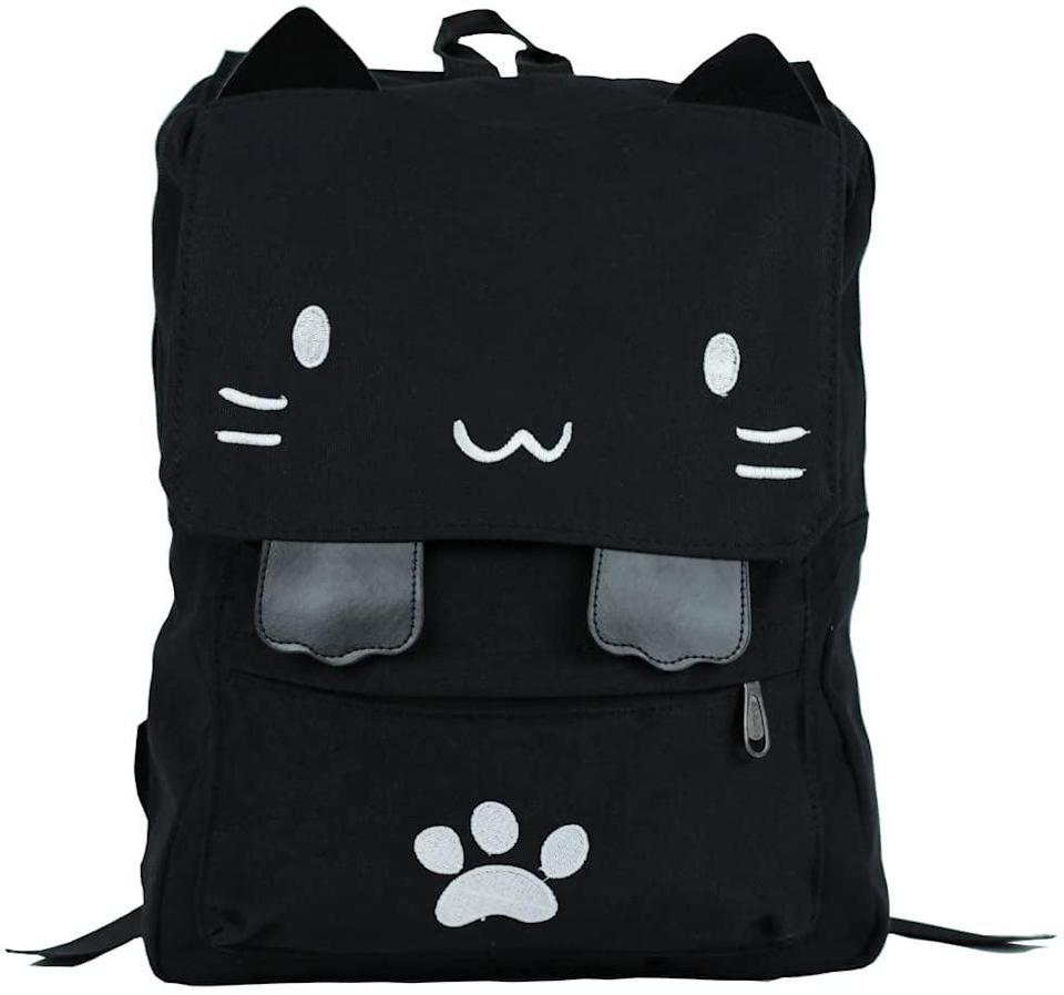 <p>How adorably chic is this <span>Cat Embroidery Canvas School Backpack</span> ($35, originally $40)?! It can carry your kid's every day essentials including a 14-inch laptop.</p>