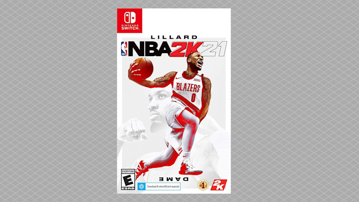 Save half on NBA 2K21 for Nintendo Switch. (Photo: Amazon)