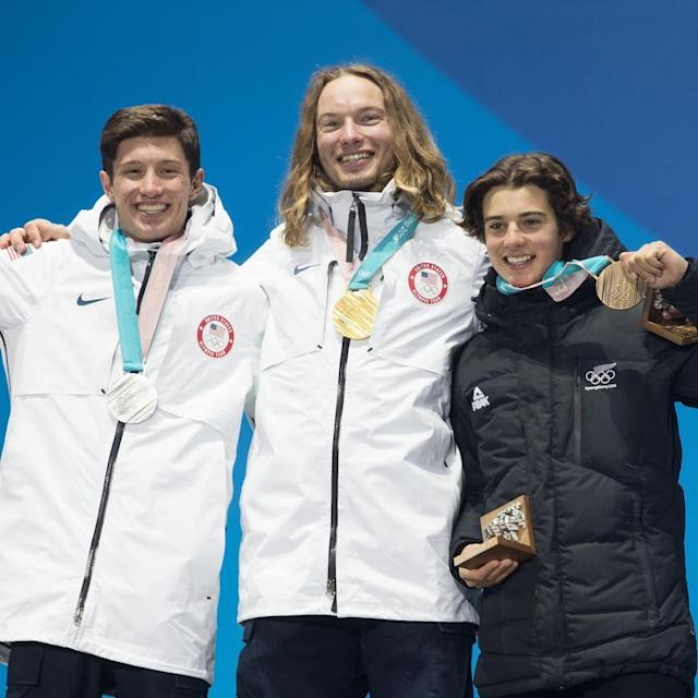<p>mrdavidwiseI still can't believe this is real life. I consider it such an honor just to be participating in this sport, so to stand on the top step at the end of the day is beyond my wildest dreams. Congrats @alex_ferreira3 And @nicoporteous you guys skied like champions. <br> (Photo via Instagram/mrdavidwise) </p>