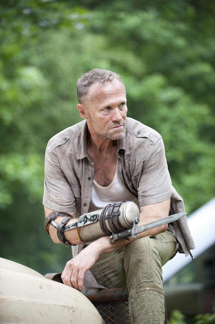 Michael Rooker as Merle Dixon in AMC's The Walking Dead. (Photo Credit: Gene Page/AMC)