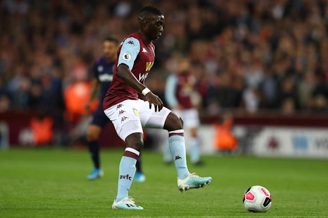 Marvelous Nakamba joined Aston Villa in the summer. (Credit: Getty Images)