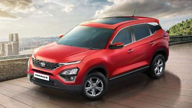Tata Harrier XT+ launched in India at Rs. 17 lakh