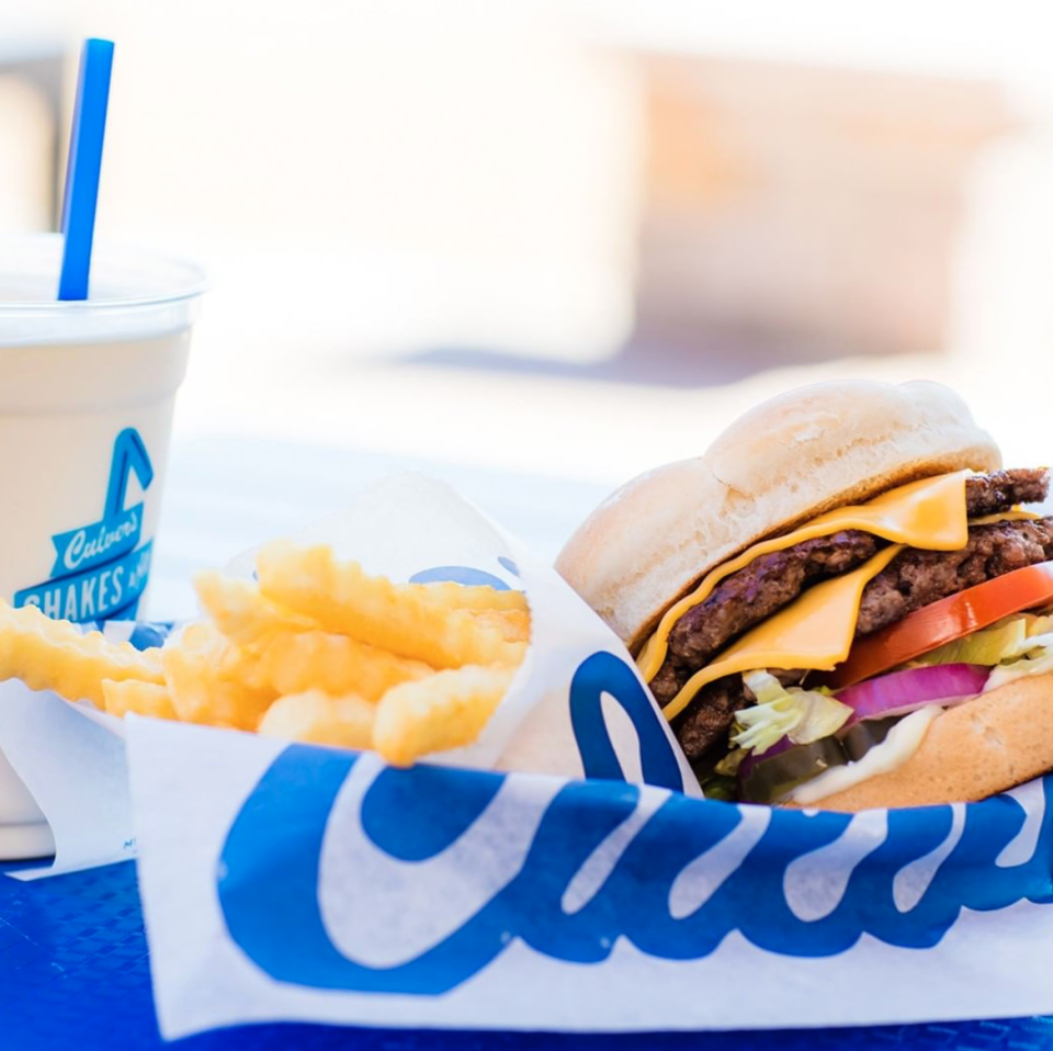 "<p>Hospitality at <a href=""https://www.culvers.com/"" rel=""nofollow noopener"" target=""_blank"" data-ylk=""slk:Culver's"" class=""link rapid-noclick-resp"">Culver's</a> rivals most local fast food spots, and this Wisconsin-based frozen custard hot spot sure knows how to keep it up. Their fan-favorite ButterBurgers are made with lightly buttered buns and a whole lot of love. </p>"