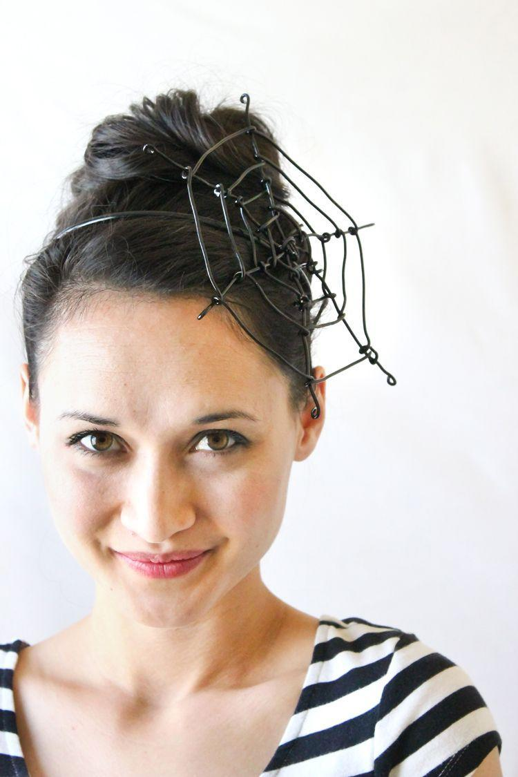"""<p>Too busy making the kids' costumes to put much thought into your own? Wear this eye-catching DIY headband and you're instantly ready for trick-or-treating.</p><p><strong>Get the tutorial at <a href=""""https://www.deliacreates.com/spiderweb-fascinator-tutorial/"""" rel=""""nofollow noopener"""" target=""""_blank"""" data-ylk=""""slk:Delia Creates"""" class=""""link rapid-noclick-resp"""">Delia Creates</a>. </strong></p><p><strong><a class=""""link rapid-noclick-resp"""" href=""""https://www.amazon.com/Artistic-Wire-26-Gauge-Black-30-Yards/dp/B004BNDO3W/?tag=syn-yahoo-20&ascsubtag=%5Bartid%7C10050.g.28181767%5Bsrc%7Cyahoo-us"""" rel=""""nofollow noopener"""" target=""""_blank"""" data-ylk=""""slk:SHOP BLACK WIRE"""">SHOP BLACK WIRE</a><br></strong></p>"""