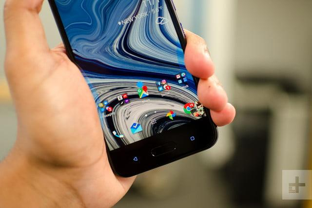 HTC U11 Life review front angle