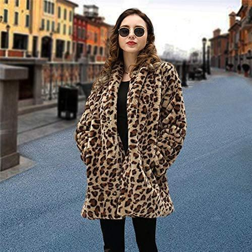 <p>Rock this <span> Faux Fur Leopard Coat</span> ($34-$38) on a night out.</p>