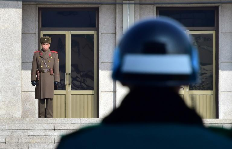 The truce village of Panmunjom in the Demilitarized Zone that divides the two Koreas will host a summit between Kim and South Korean President Moon Jae-in next week