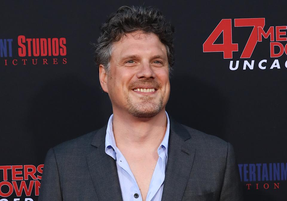 """WESTWOOD, CALIFORNIA - AUGUST 13: Director Johannes Roberts attends the LA premiere of """"47 Meters Down Uncaged"""" the at Regency Village Theatre on August 13, 2019 in Westwood, California. (Photo by Paul Archuleta/FilmMagic)"""