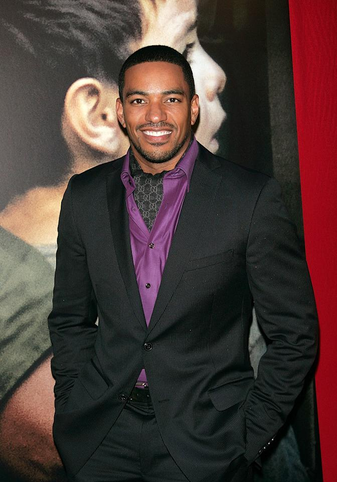 """<a href=""""http://movies.yahoo.com/movie/contributor/1808436881"""">Laz Alonso</a> at the New York City premiere of <a href=""""http://movies.yahoo.com/movie/1809947151/info"""">Miracle at St. Anna</a> - 09/22/2008"""