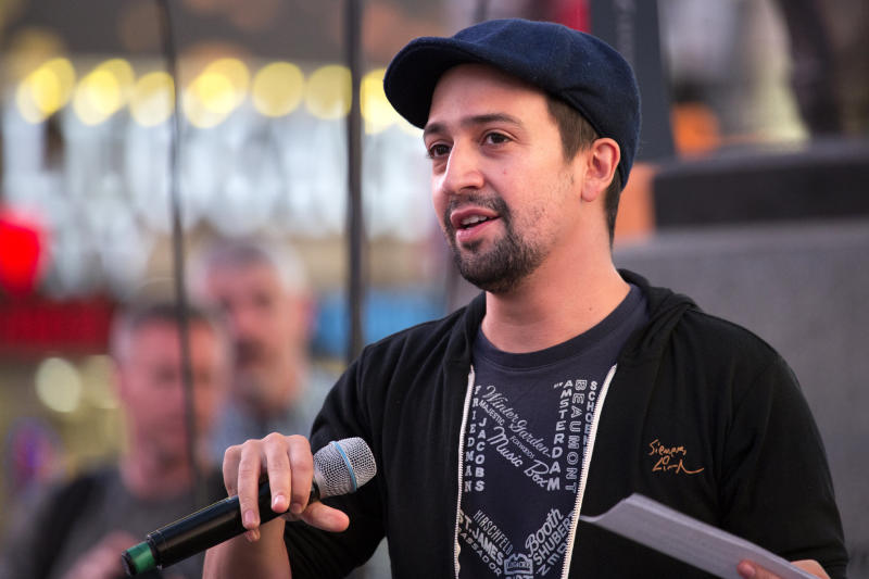 Lin-Manuel Miranda attends an event in New York City on Sept. 15.