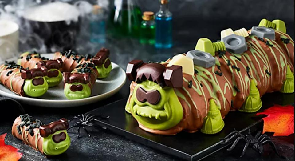 Frankencolin is the spooky twist on Colin the Caterpillar (M&S)